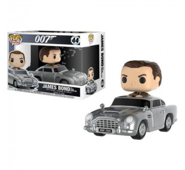 Pop Funko Rides 007 James Bond com Aston Martin DB5 44