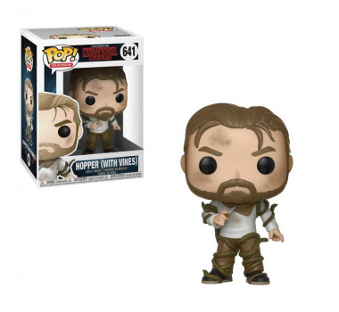Funko Pop Tv: Stranger Things - Hopper with Vines 641