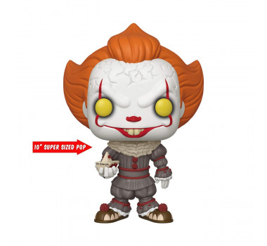 "Funko 40593 POP Movies: IT: Chapter 1-10"" w/Boat IT Pennywise"