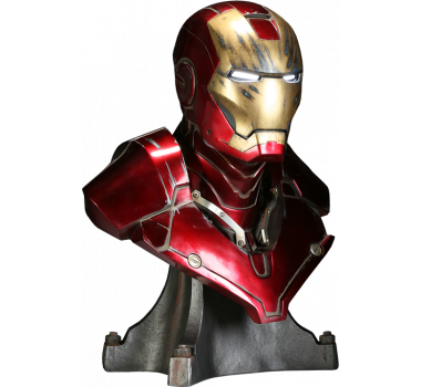 Iron Man Mark III Life-Size Bust by Sideshow Collectibles 1/1