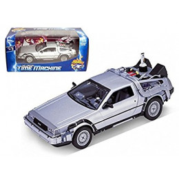 Delorean Time Machine Back to the Future Part II Welly 1/24 Diecast