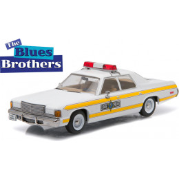 1977 Dodge Royal Monaco Illinois State Police - The Blues Brothers 1:43 Greenlight