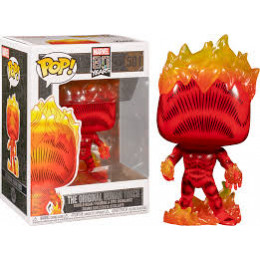 Funko Pop! The Original Human Torch Marvel 80 Years 501