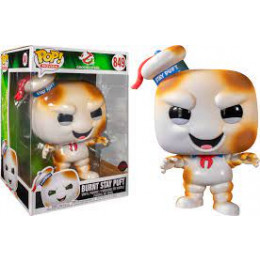 Funko POP! Movies: Ghost Busters-10 Ghostbusters Burnt Stay Puft #849