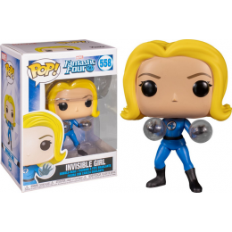 Funko Pop Marvel: Fantastic Four - Invisible Girl 558