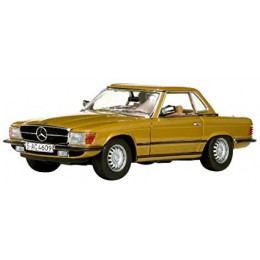 1977 Mercedes-Benz 350 SL Hard Top Coupe - Escala 1:18 - Sun Star #4609
