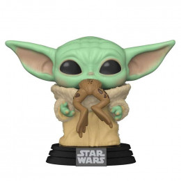 Funko POP! The Child Baby Yoda with Frog – Star Wars #379