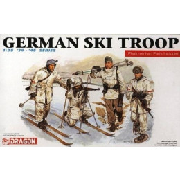 Kit Dragon German Ski Troop Nr. 6039 - 1:35