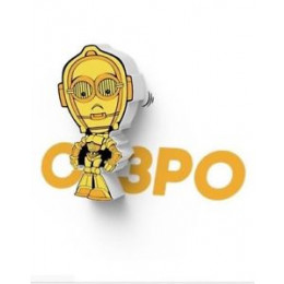 Luminária Star Wars C-3PO 3d Deco Light