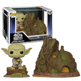 Pop Funko Star Wars Dagobah Yoda with Hut 11