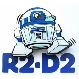 Luminária Star Wars R2-D2 3d Deco Light