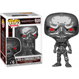 Funko Pop! Movies: Terminator Dark REV-9 Endoskeleton #820