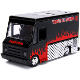 Miniatura de Carro Deadpool Taco Truck J 1:32 HollyWood Rides