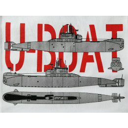 Camisa German U-Boat II War